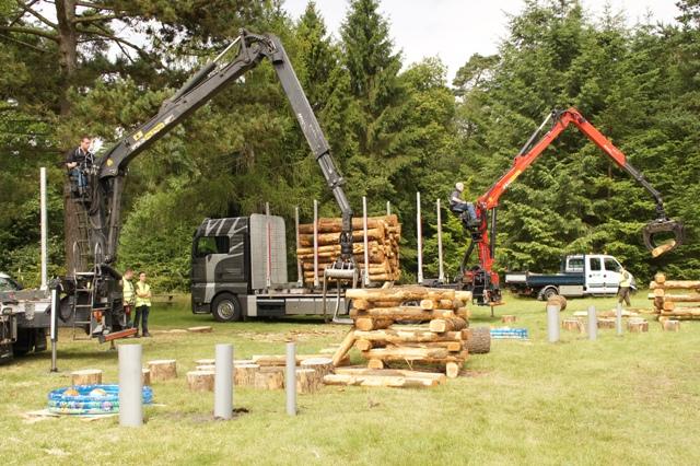 bosbouwwedstrijden 2014